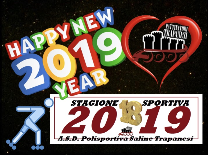 Happy New Year Pattinatori Trapanesi