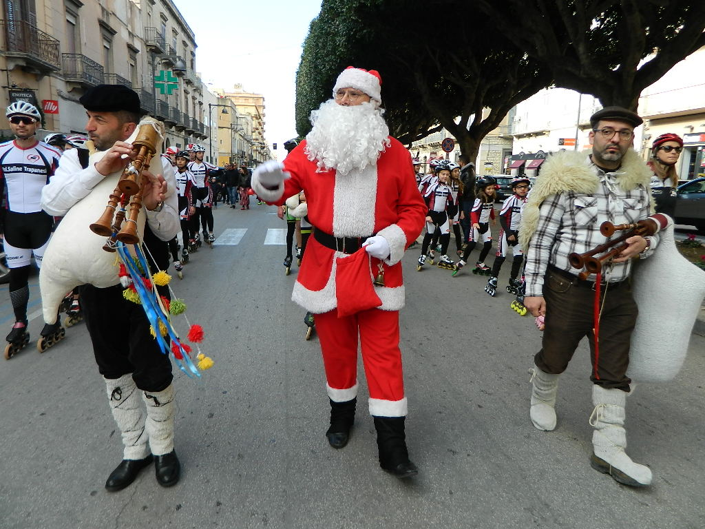 Natale in Via Fardella con i Pattinatori Trapanesi 20