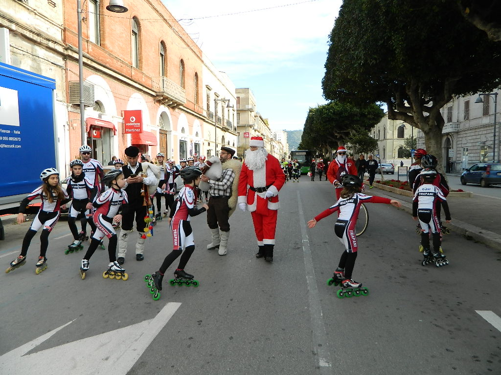 Natale in Via Fardella con i Pattinatori Trapanesi 46